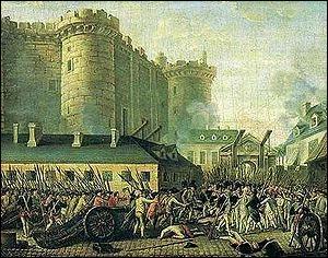 À quelle date s'est déroulée la prise de la Bastille ?