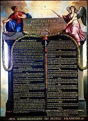 Quel texte est adopté par l'Assemblée nationale constituante le 26 août 1789 ?