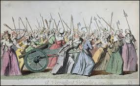Les 5 et le 6 octobre 1789, les femmes se rendent à Versailles. Que venaient-elles réclamer ?