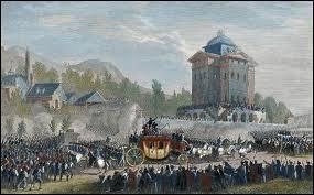 Où est arrêté Louis XVI lors de sa tentative de fuite le 21 juin 1791 ?