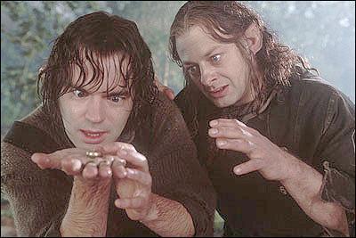 Où Déagol et Sméagol trouvent-ils l'anneau ?
