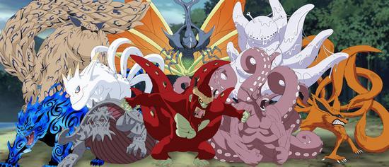 Naruto : les Bijus
