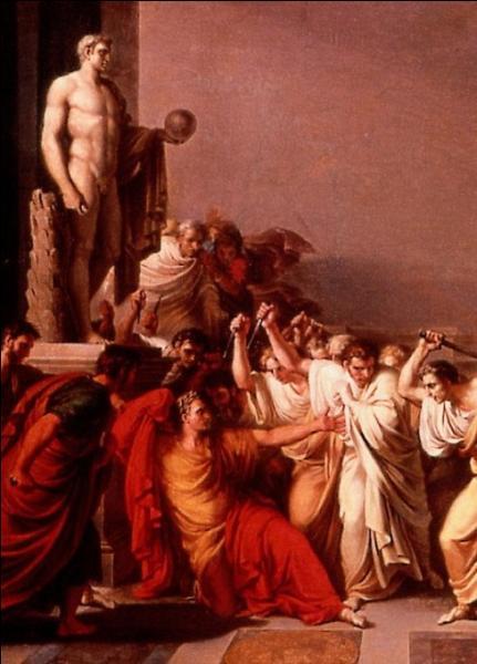 Où César fut-il assassiné ?