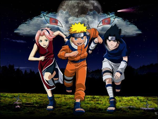 Sasuke rejoint l'équipe 7, quels sont les deux autres élèves qui sont dans cette équipe ?