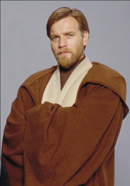 De quelle couleur est le sabre d' Obi-Wan ?