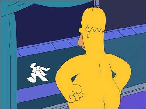Les yeux d'Homer sont :