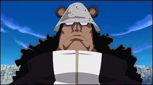 Ce capitaine corsaire travaillait pour les révolutionnaires mais a rejoint les rangs des grands corsaires. Il sert de cobaye à la marine. Il devient un cyborg après l'arc Shabondy et ne se rappelle plus de rien sur son passé. Qui est-il ?
