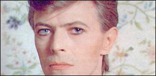 David Bowie a les yeux vairons.