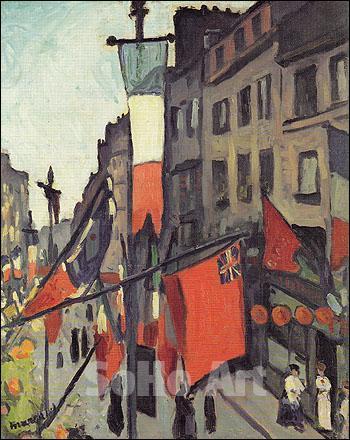 Le 14 Juillet au Havre, 1906