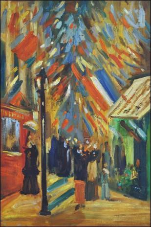 Célébration du 14 Juillet à Paris, 1886