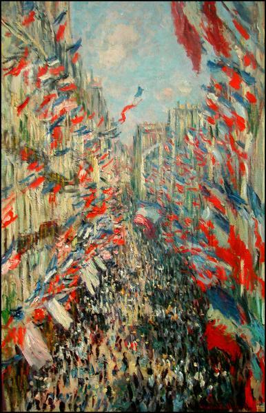 Fete nationale rue Montorgueil