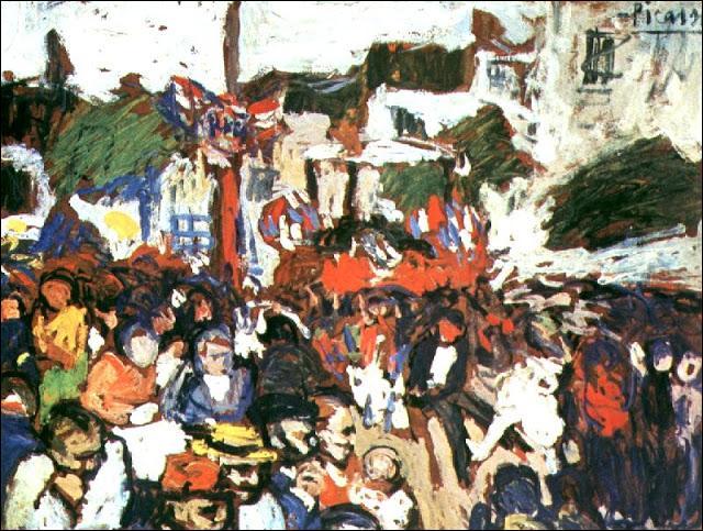 Montmartre le 14 juillet 1901