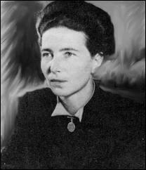 Quelle auteure a écrit  Le Deuxième Sexe , publié en 1949, qui contient un plaidoyer en faveur de l'avortement libre et revendique l'épanouissement sexuel des femmes ?