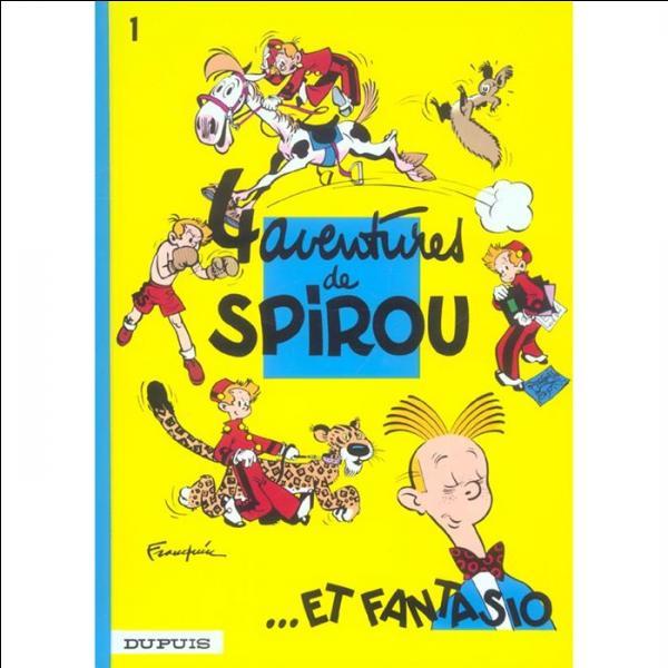 Dans quatre aventures de Spirou et Fantasio, quel animal exotique Spirou héberge-t-il malgré lui ?