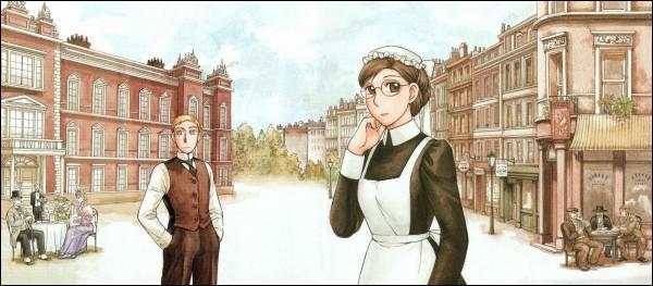 L'histoire se déroule durant l'époque victorienne en Angleterre, époque où il y a des frontières entre classes sociales et donc qu'un homme de la petite bourgeoisie pense à fréquenter une servante est inconcevable.