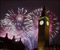 C'est la fête nationale française mais laissez aussi les Anglais faire de bon feux d'artifice ! Le premier vrai feu d'artifice a été tiré à Paris en :