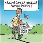 Le président arrive mais laissez aussi la place aux État-Uniens ! C'est une comédie américaine de Peter Segal en 1996 :