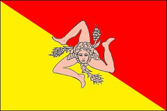 A quelle grande île méditerranéenne ce drapeau appartient-il ?