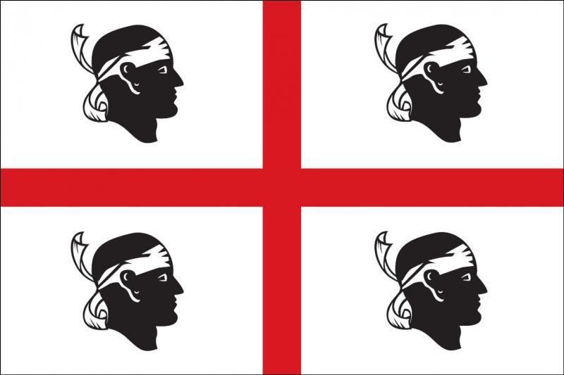 De quel île méditerranéenne ce drapeau est-il le symbole ?