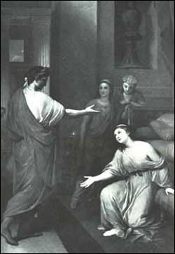 Dans le tombeau de la reine, Octave réussit-il à mettre la main sur Cléopâtre avant qu'elle ne se suicide ?