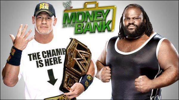 Qui a gagné entre John Cena et Mark Henry pour le titre de la WWE ?