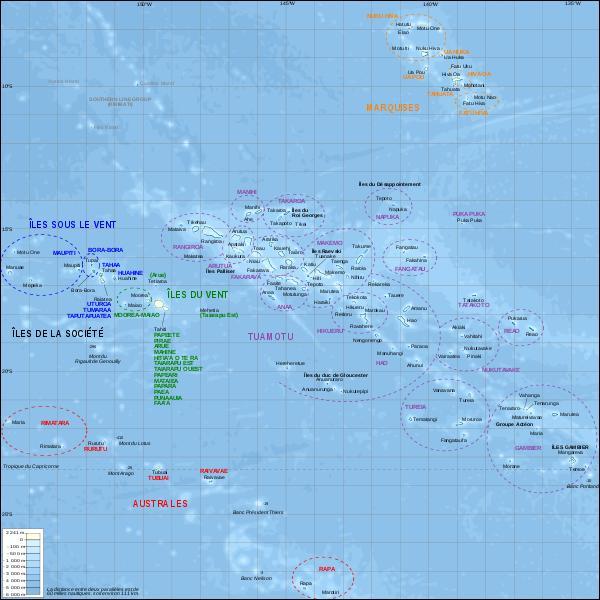 En 1842, de quel groupe d'archipels polynésiens la France commence-t-elle la conquête ?