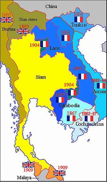 En 1887, quel ensemble territorial, regroupant des colonies et des protectorats français, est créé en Asie du Sud-Est ?