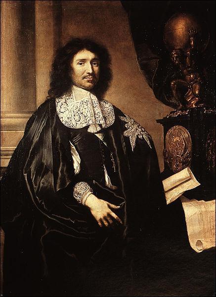 En 1664, la Compagnie des Indes occidentales et la Compagnie des Indes orientales sont créées. Quel ministre de Louis XIV en est à l'origine ?