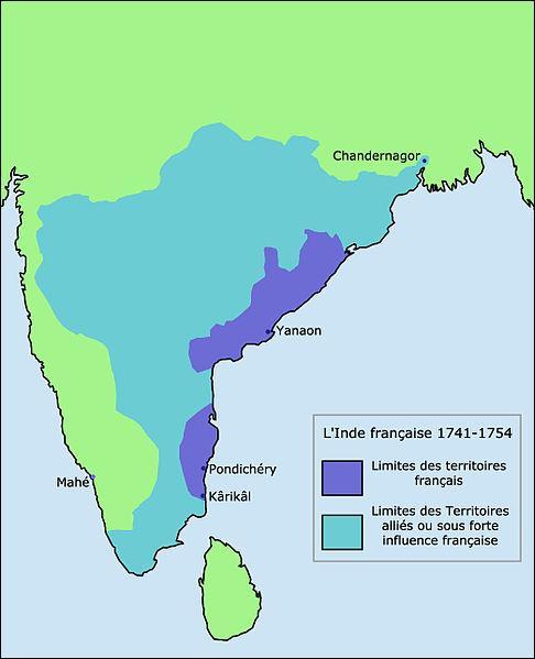 Sur quel sous-continent asiatique la France tente-t-elle de s'implanter à partir de 1668 ?
