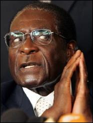 Dictateur africain, président du Zimbabwe depuis 1987, auparavant premier ministre depuis 1980?