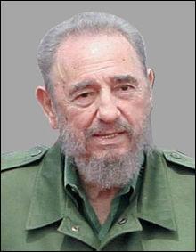 Principal leader historique et politique, 'Lider Maximo', de la révolution anti-batististe de 1959, d'inspiration démocratique,nationaliste et socialisante?