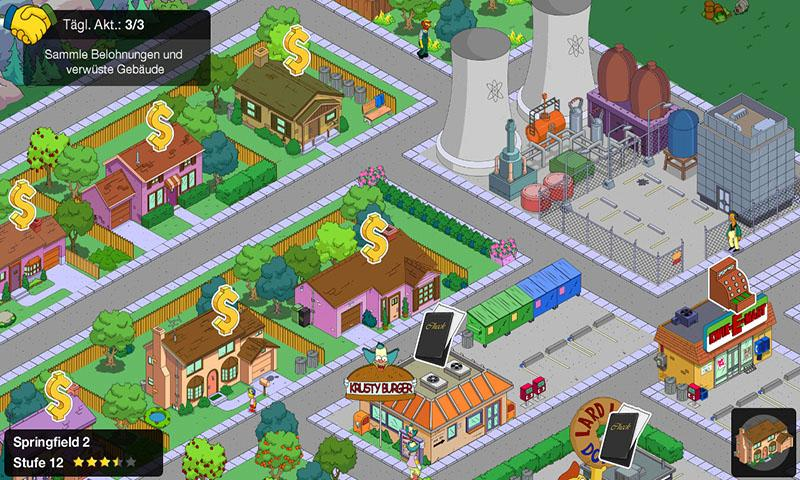 The Simpsons : Springfield (Tapped Out) part 1