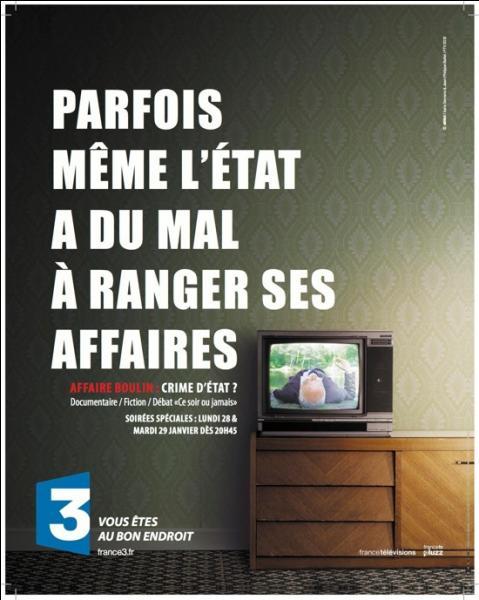 En France, le 30 octobre 1979, le corps d'un homme est découvert dans  L'étang rompu , de la forêt de Rambouillet !