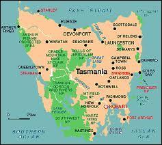 A quel continent est rattachée la Tasmanie ?