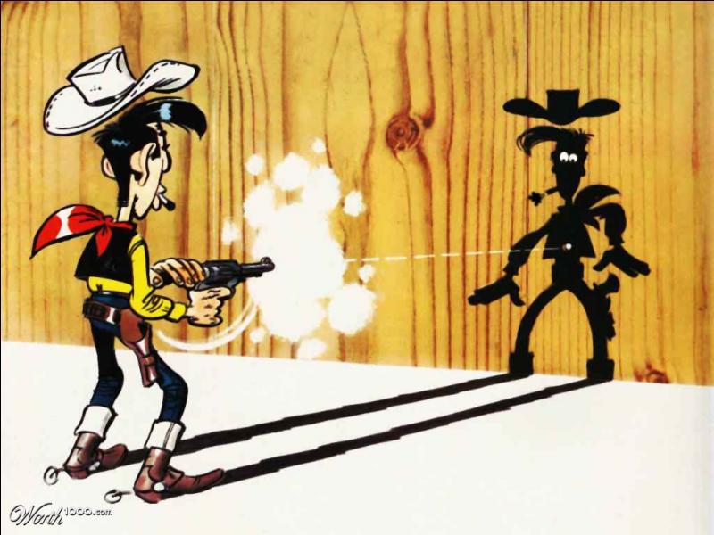 Dans quel magazine de bandes dessinées a-t-on pu voir pour la première fois Lucky Luke ?