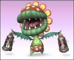 Quel est le nom de cette méchante fleur qui apparaît dans Mario ? (Mario son univers)