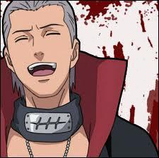 Je fais partie de l'Akatsuki. Je suis un nukenin du village de Yu du pays des Sources chaudes. Je prie Jashin. J'aime tuer et je suis immortel. Je suis :