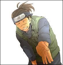 J'ai été le premier ami de Naruto ; je suis professeur à l'académie ninja et je suis chûnin. Je m'appelle :