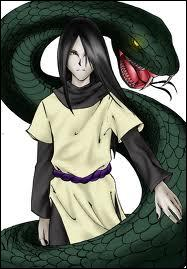 Je faisais partie de l'Akatsuki mais je suis parti car Itachi m'a vaincu. J'ai par la suite créé le village caché d'Oto dont je suis le chef. Je suis :