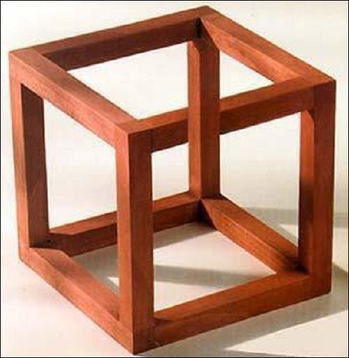 Ce cube est-il un montage ou un cube réel ?