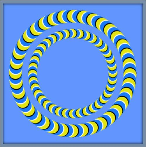Regardez le haut du cercle le plus grand et dites-moi ce qu'on a l'impression :