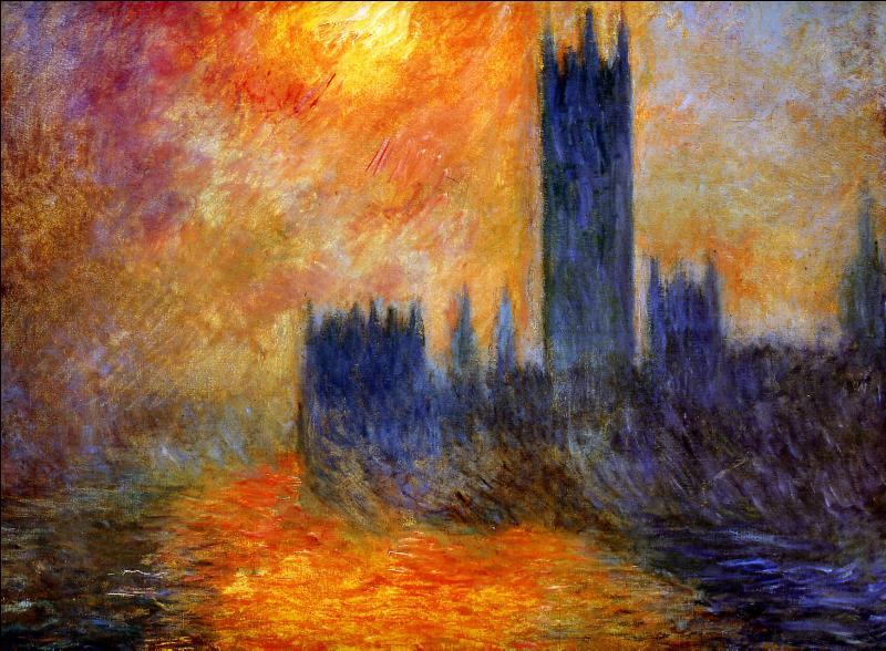 Il a peint le Parlement au soleil couchant, son anniversaire est le 14 novembre :