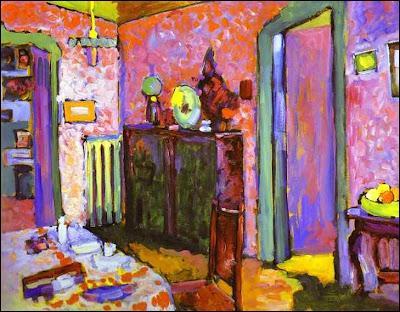 Lequel de ces artistes, né le 4 décembre, a peint Intérieur, la salle à manger ?