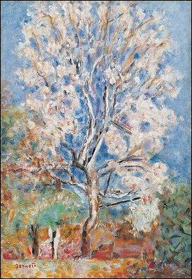 Egalement né le 30 octobre, il a peint L'amandier :
