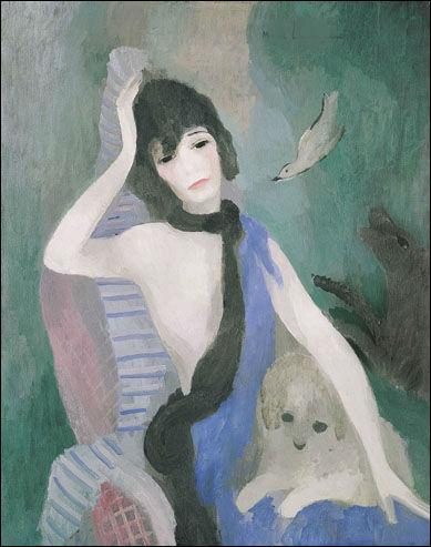 Son anniversaire est le 31 octobre, Qui a peint sur cette toile Coco Chanel :