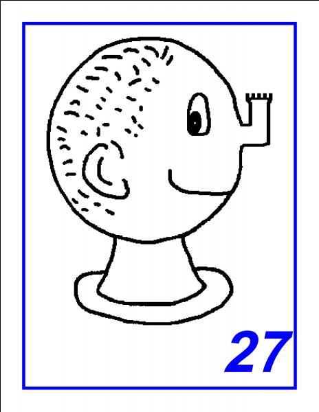 Ce nez représente une pièce d'un jeu très connu. Lequel ?
