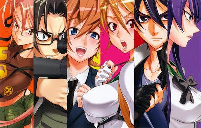 Highschool of the Dead : les personnages