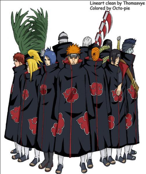 Combien de membres de l'Akatsuki a t-il combattu ?