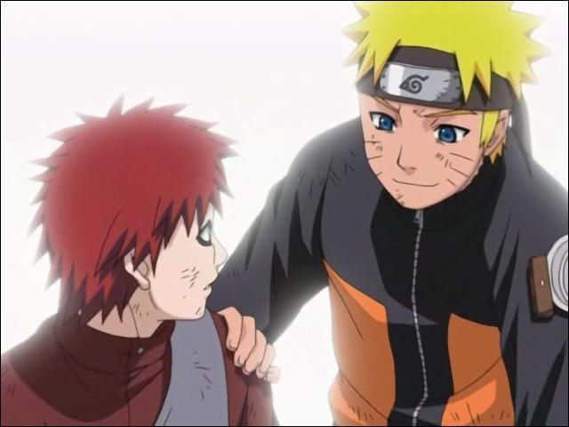 Comment Naruto réagit-il lorsqu'il apprend que Gaara est devenu Kazekage ?