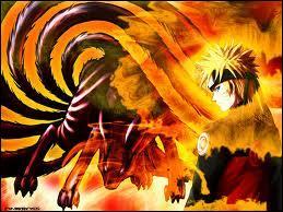 Quelle partie du chakra de Kyûbi est scellée en Naruto ?